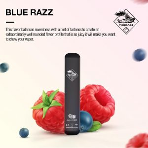 New tugboat blue razz in dubai/uae
