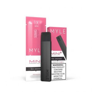 MYLÉ Mini 2 – Pink lemonade Disposable Device IN DUBAI/UAE