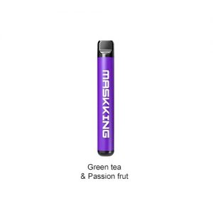 Maskking Green Tea & Passion Fruit-High Disposable Pod System Kit IN DUBAI/UAE