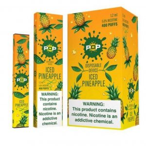 POP ICED PINEAPPLE- DISPOSABLE VAPE DEVICE IN DUBAI/UAE