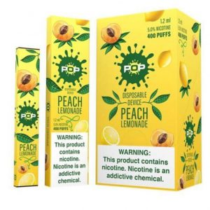 POP PEACH LEMONADE- DISPOSABLE VAPE DEVICE IN DUBAI/UAE