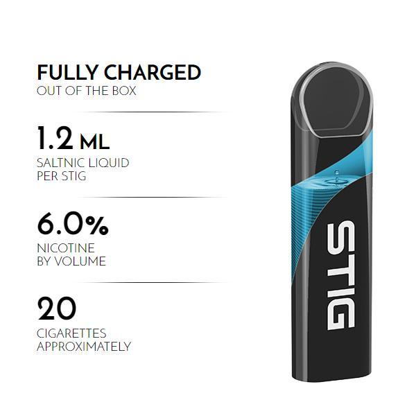 Cubano – Stig Pods – Ultra Portable and Disposable Vape Device in DUBAI/UAE