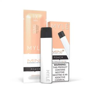 MYLÉ Mini 2 – Peach Disposable Device IN DUBAI/UAE
