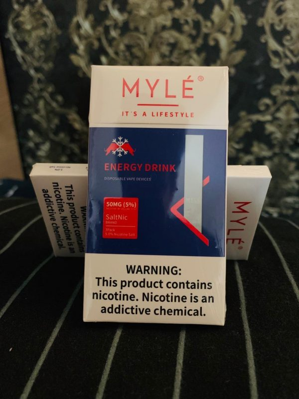 MYLE Disposable Pod (Energy Drink) in Dubai/UAE