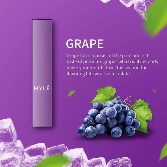 MYLE Disposable Pod (Grape) in Dubai/UAE