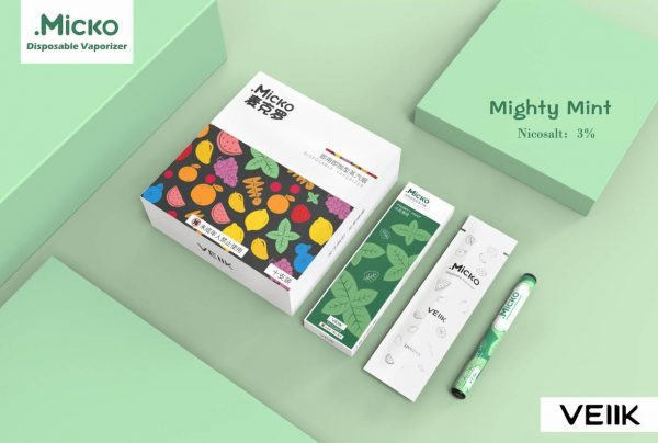 Micko Disposable Vaporizer By Veiik in Dubai/UAE