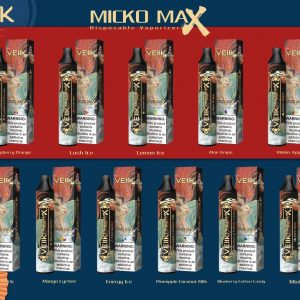 VEIIK Micko Max Disposable 1500 Puffs Vape